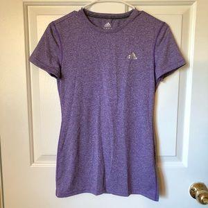Purple Adidas Active Top